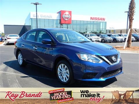 New 2019 Nissan Sentra S FWD 4D Sedan