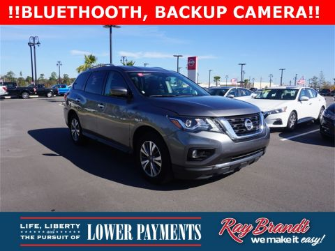 Certified Pre-Owned 2017 Nissan Pathfinder SV FWD 4D Sport Utility